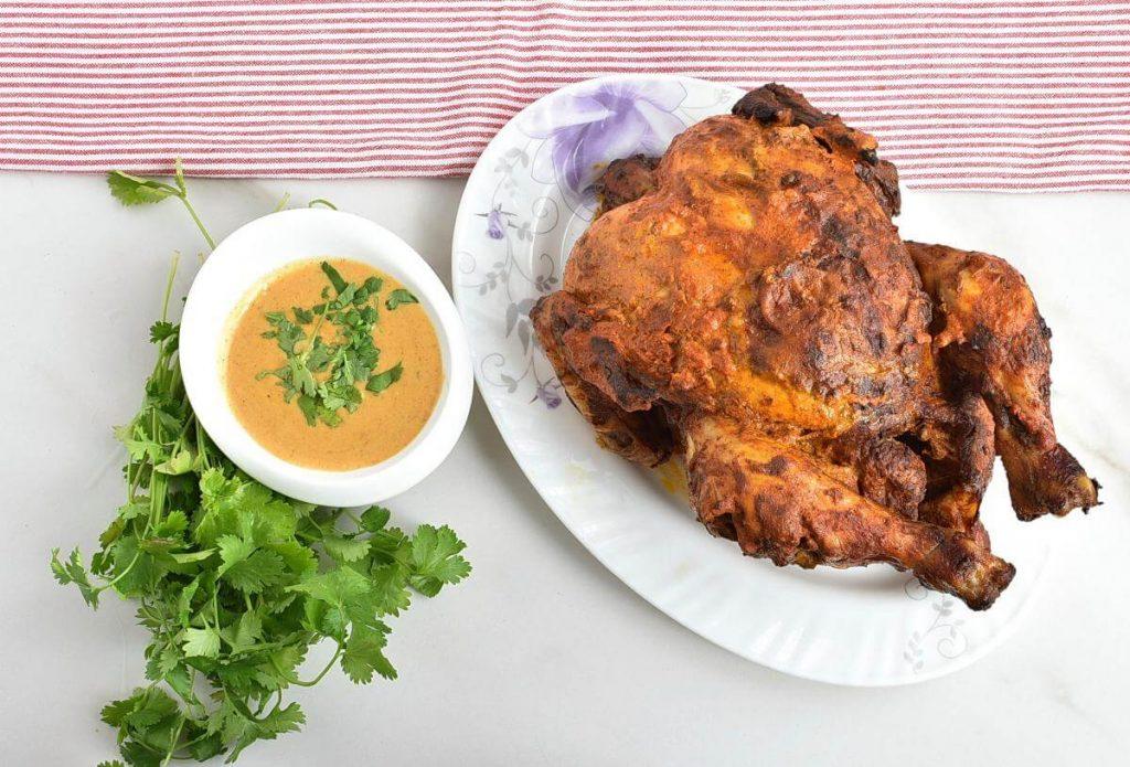 How to serve Tandoori Roast Chicken