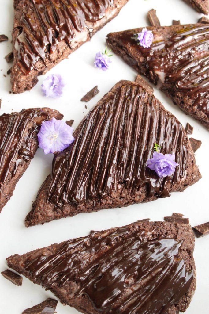Triple Chocolate Scones Supreme