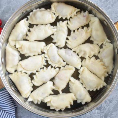 Vareniki (Pierogi) with Cherries recipe - step 8