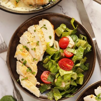 30-Minute Low-Carb Chicken Recipe-Low Carb 30 Minute Chicken Skillet Dinner-Easy Keto Low Carb 30 Minute Meals