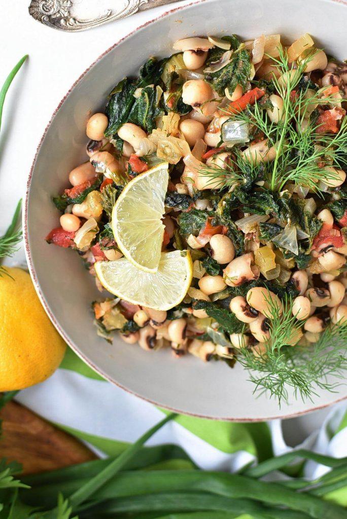 Warm Black-Eyed Pea Salad