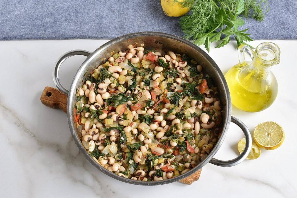 How to serve Black-Eyed Peas with Greens