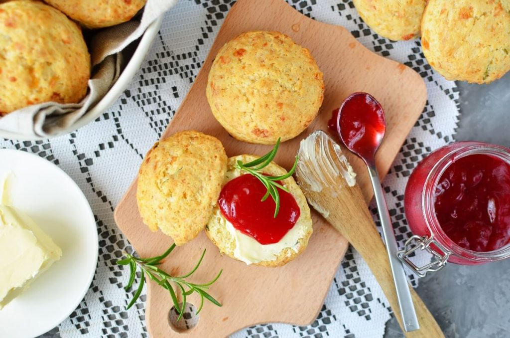 How to serve British Cheddar and Rosemary Scones