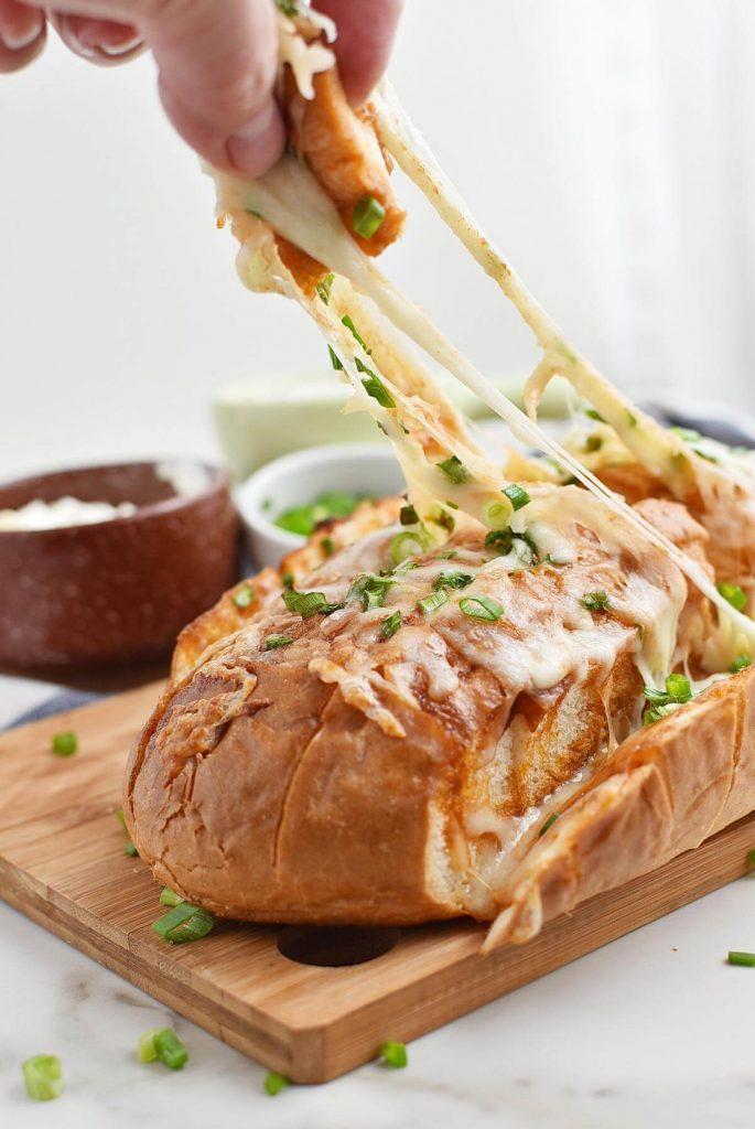 Buffalo Pull-Apart Bread