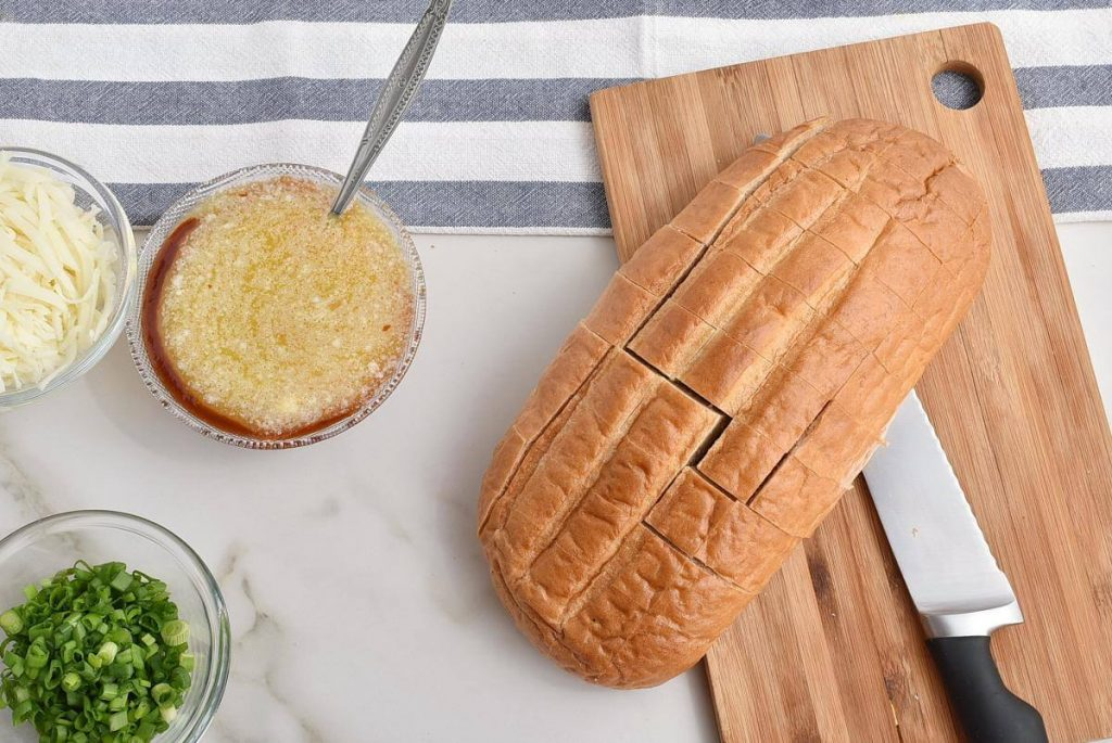Buffalo Pull-Apart Bread recipe - step 3