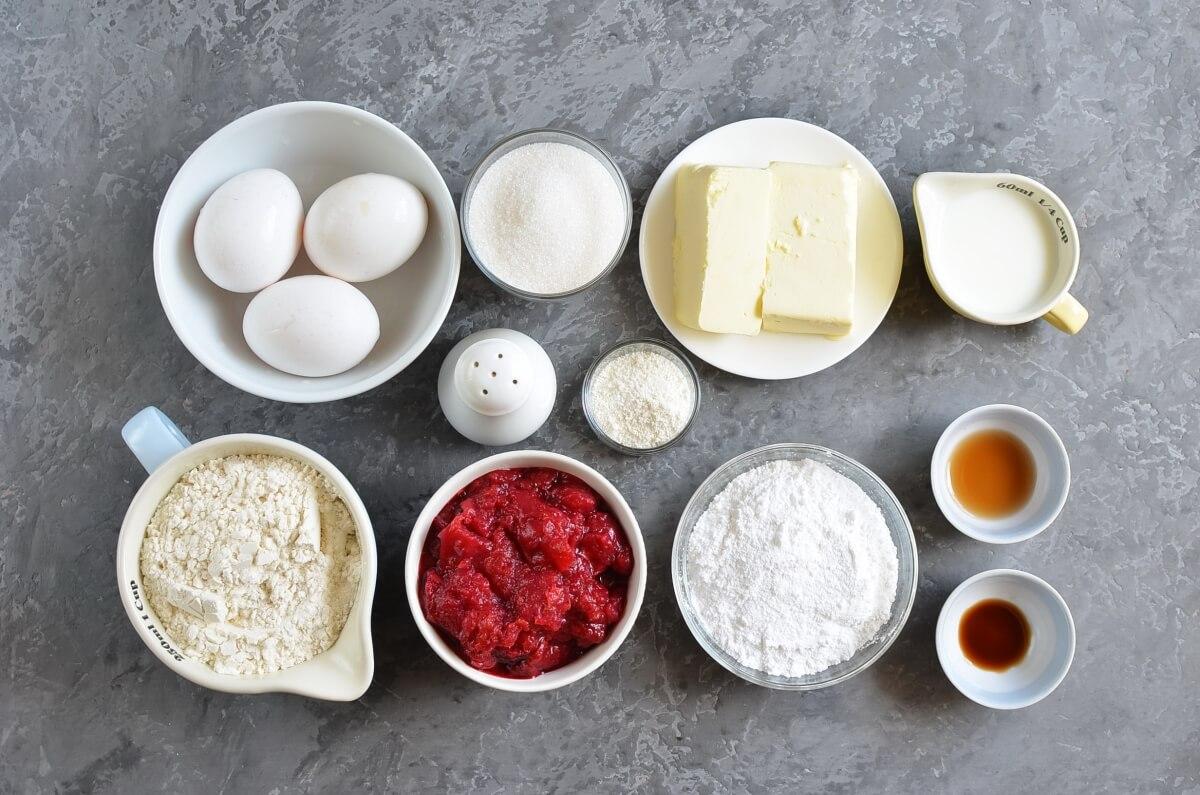 CHERRY KUCHEN BARS Recipe-How To Make CHERRY KUCHEN BARS-Delicious CHERRY KUCHEN BARS