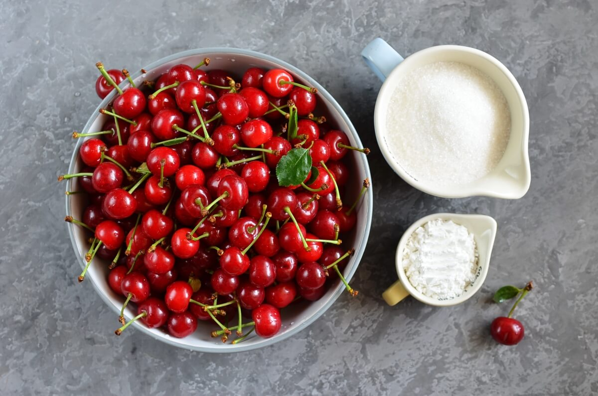 Ingridiens for Cherry Pie Filling