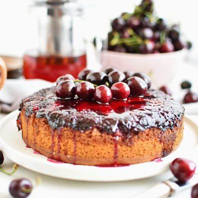 Cherry Upside-Down Cake Recipes–Homemade Cherry Upside-Down Cake–Delicious Cherry Upside-Down Cake
