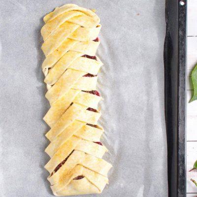 Braided Cherry & Chocolate Pastry recipe - step 7