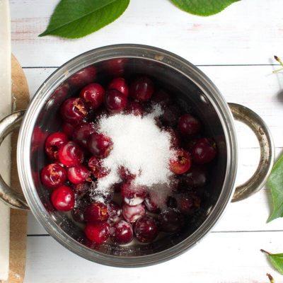 Braided Cherry & Chocolate Pastry recipe - step 1