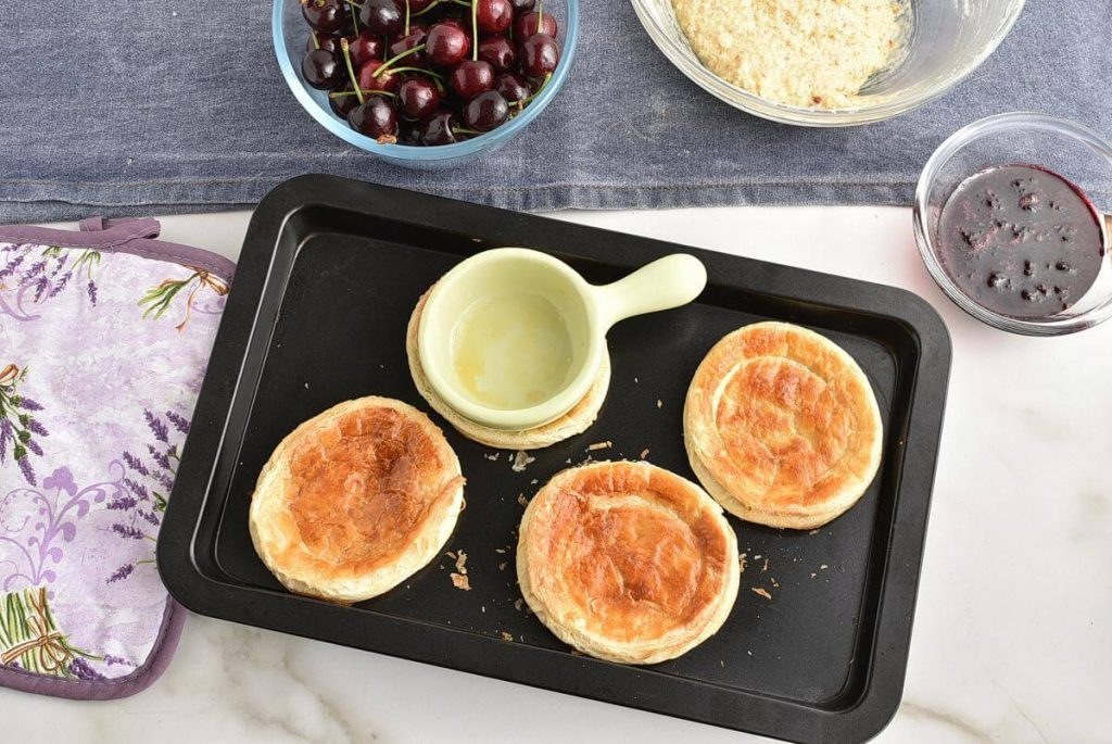 Cherry Jam & Almond Galettes recipe - step 3