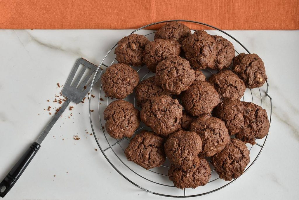 How to serve Double Chocolate Chip Cookies