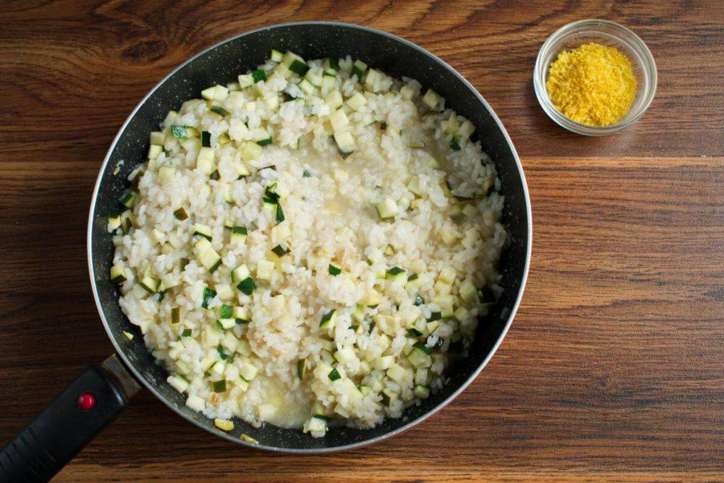 Courgette & Lemon Risotto recipe - step 5
