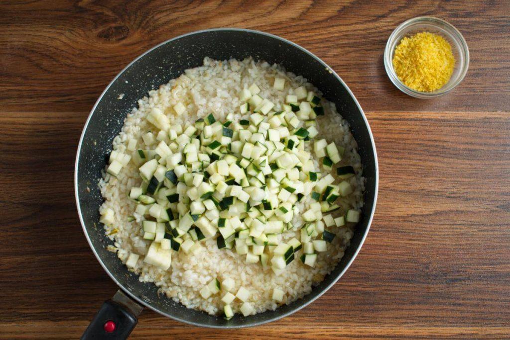 Courgette & Lemon Risotto recipe - step 4
