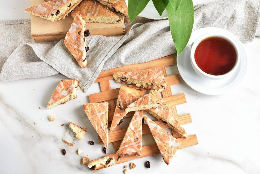 How to serve Cranberry and Almond Shortbread Bars