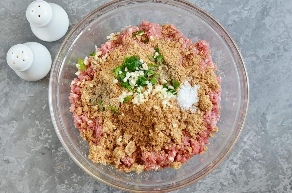 Cumin Spiced Meatballs in Rich Tomato Sauce recipe - step 2