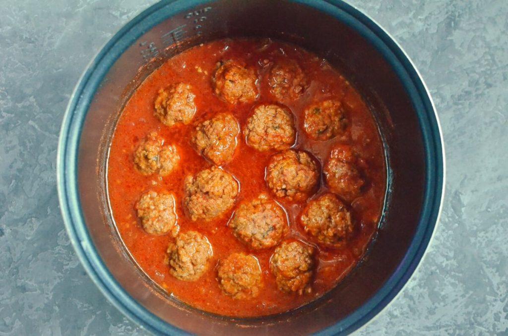 Cumin Spiced Meatballs in Rich Tomato Sauce recipe - step 7