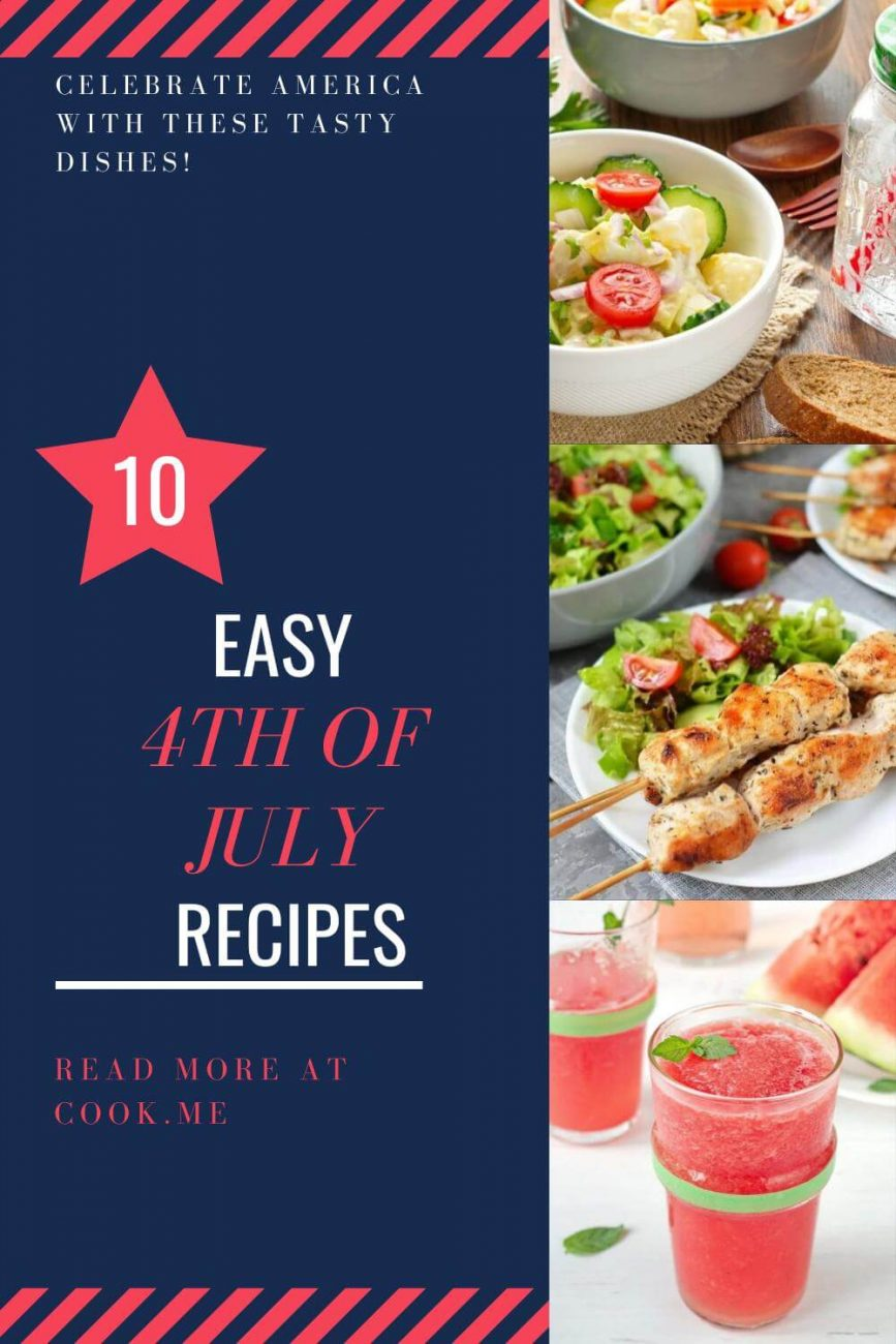 easy 4th of july recipes - Best Dishes for Fourth of July - What is a good menu for the 4th of July