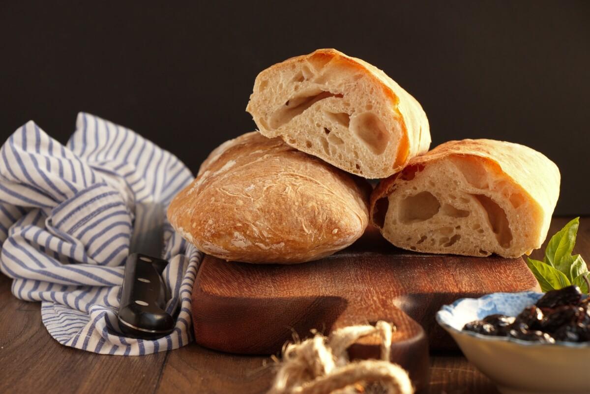 Easy Homemade Ciabatta Bread Recipe-Ciabatta Recipe-How to Make Ciabatta Bread