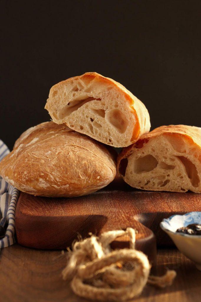 Easy Homemade Ciabatta Bread