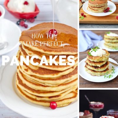 Easy Pancakes Recipes - Top 10 Pancake Recipes - Fluffy Pancakes Recipes