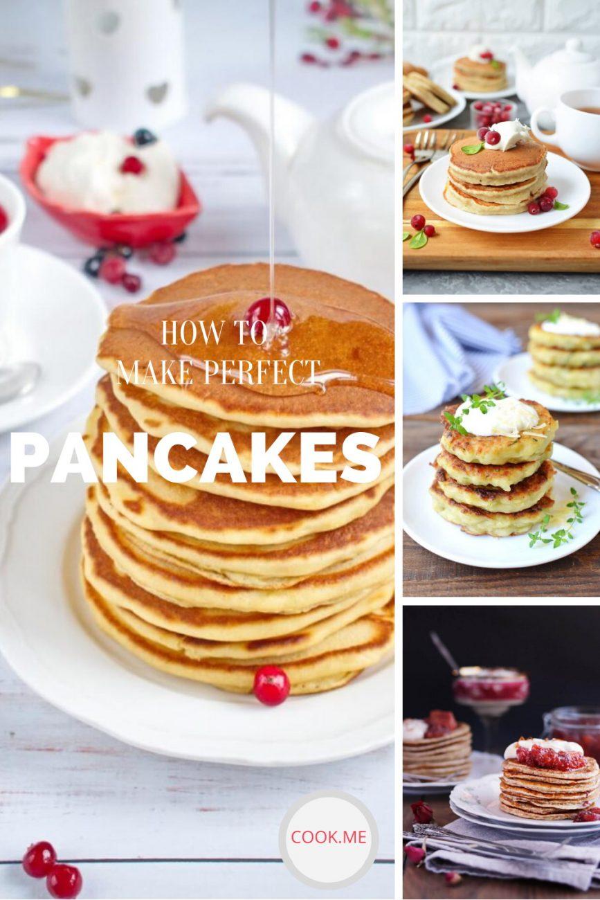 Easy Pancakes Recipes - Top 10 Pancake Recipes - Fluffy Pancakes Recipes