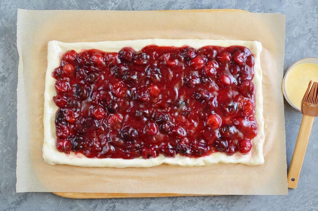 Easy Cherry Puff Pastry Tart recipe - step 6