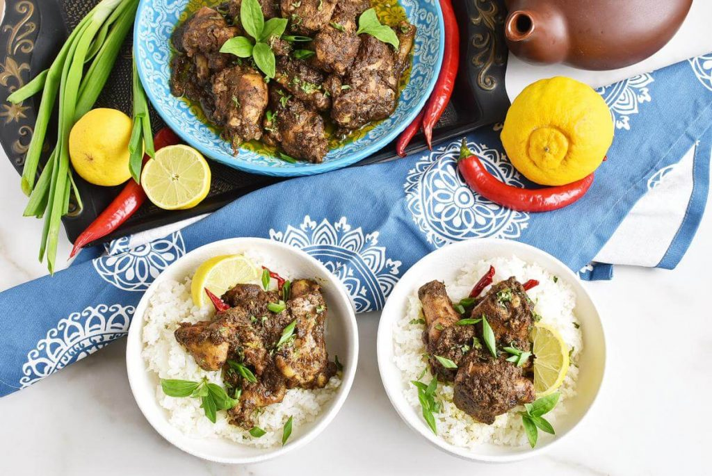 How to serve Fabulously Flavorful Geera Chicken