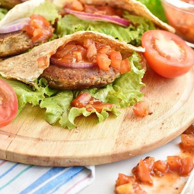 Falafel burgers Recipes–Homemade Falafel burgers–Easy Falafel burgers