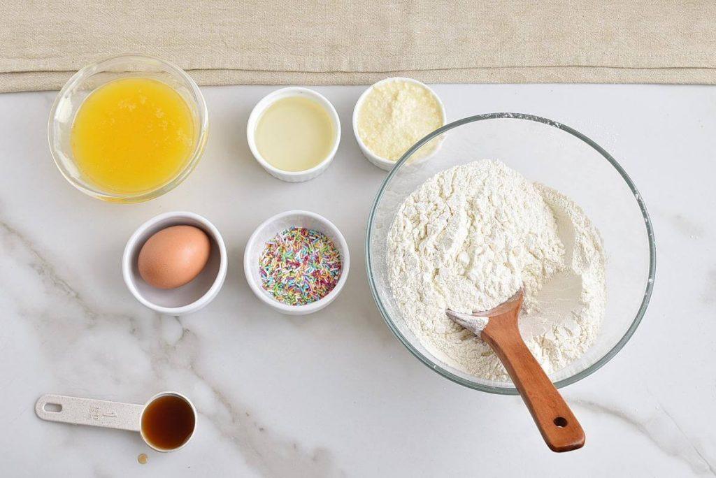 Funfetti Sugar Cookies recipe - step 2