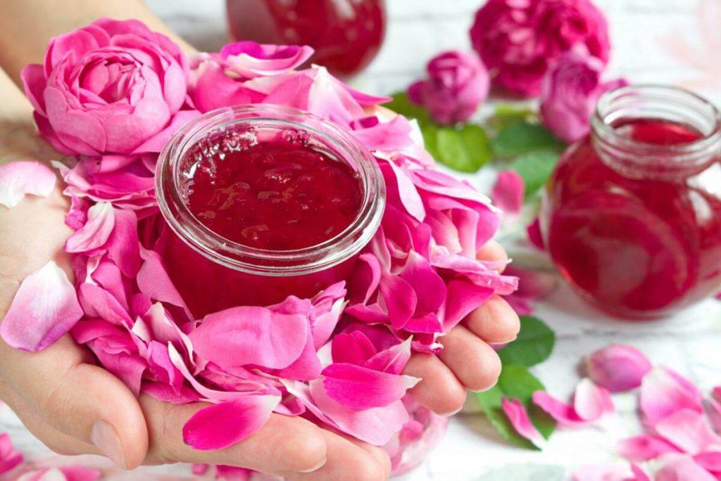 How to serve Homemade Rose Petal Jam