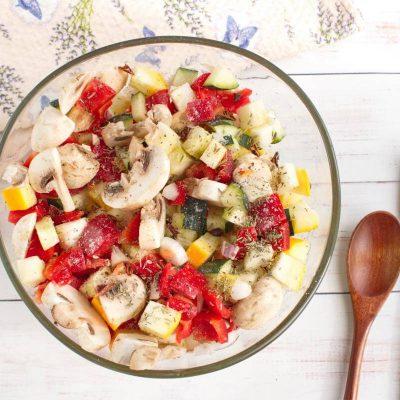 Italian Oven-Roasted Vegetables recipe - step 2