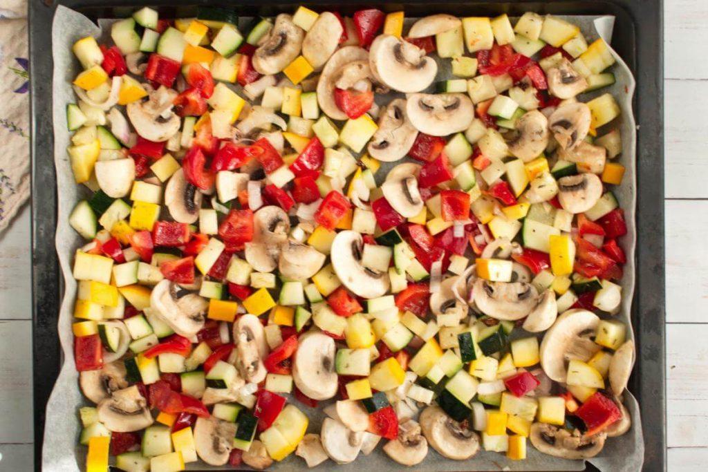 Italian Oven-Roasted Vegetables recipe - step 3