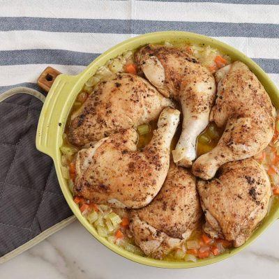 Mom's Roasted Chicken and Rice recipe - step 7