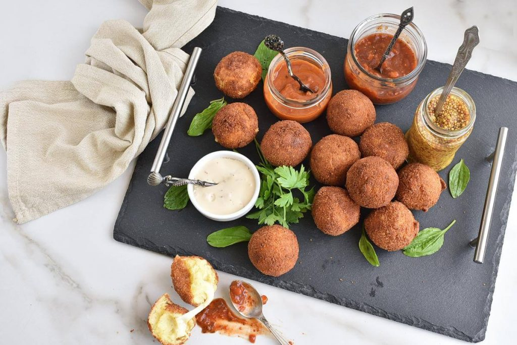 How to serve Potato Cheese Balls