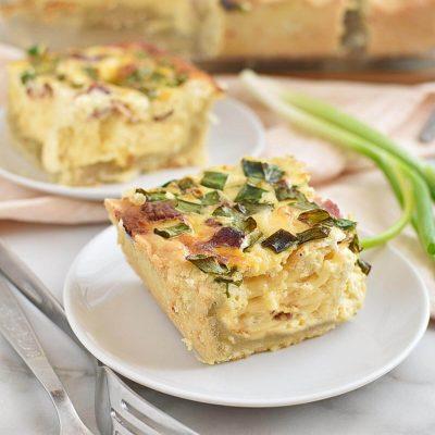 Quiche Lorraine Squares Recipes–Homemade Quiche Lorraine Squares–Easy Quiche Lorraine Squares