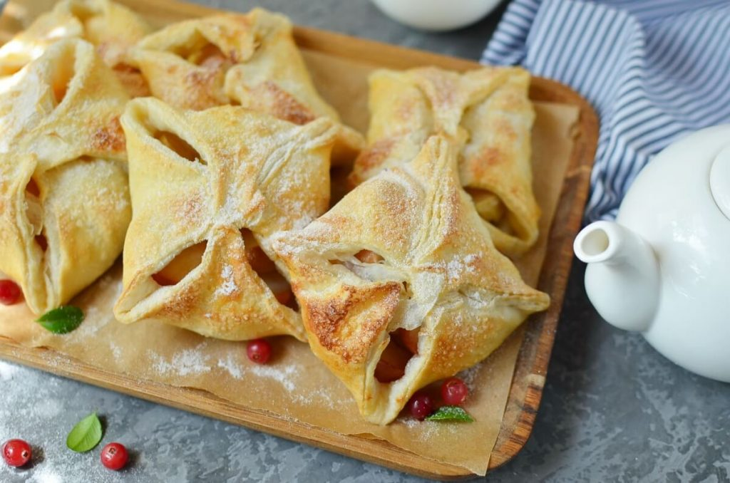 How to serve Quick Apple Pies