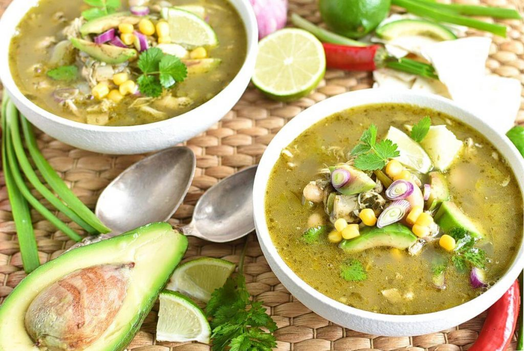 How to serve Quick and Easy Green Chicken Chili