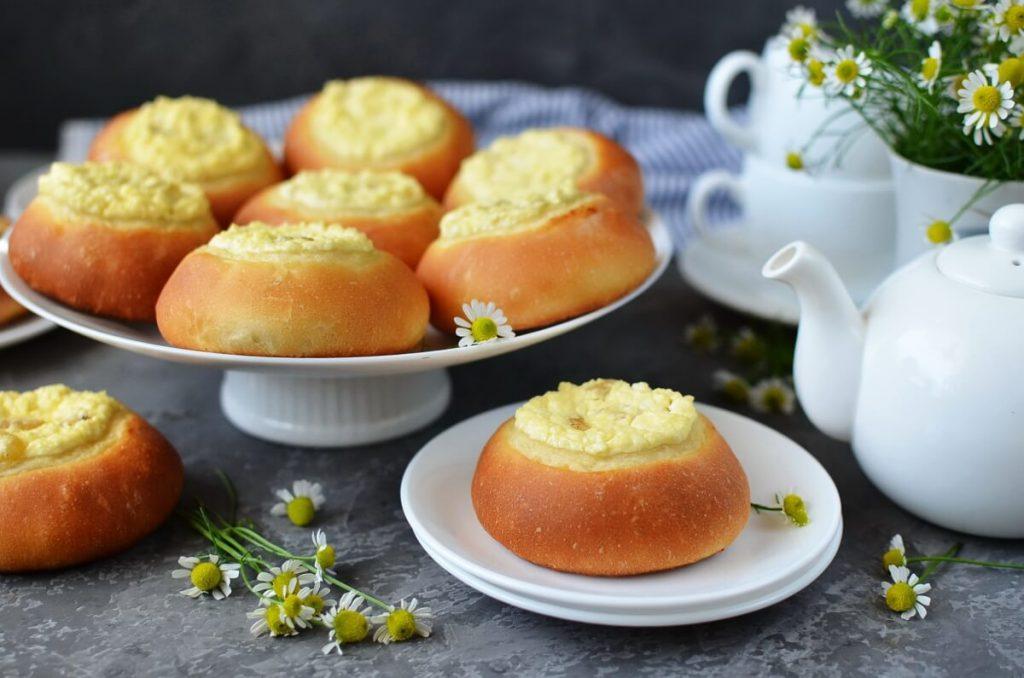Russian Cream Cheese Vatrushka Buns Recipe-How To Make Russian Cream Cheese Vatrushka Buns-Homemade Russian Cream Cheese Vatrushka Buns