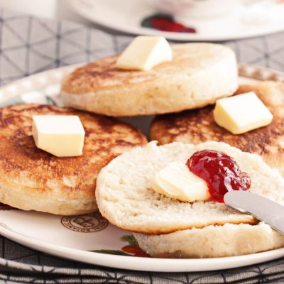 Sourdough Crumpets Recipe-How to Use Up the Excess Starter-Easy Crumpets