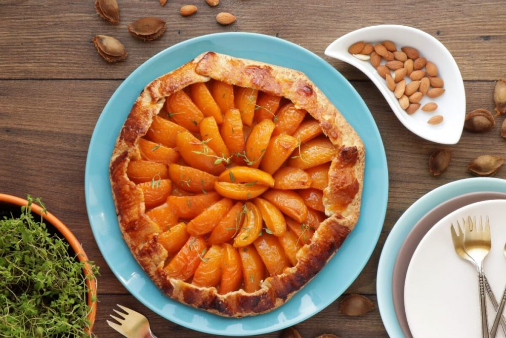 How to serve Apricot-Thyme Galette