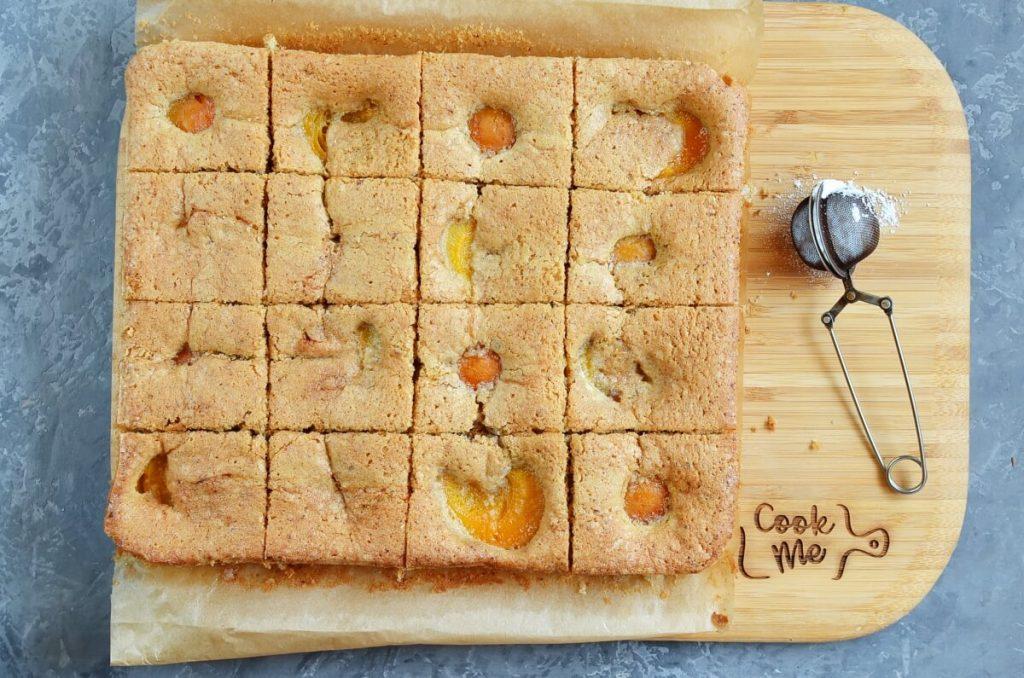 Apricot and Almond Traybake recipe - step 9