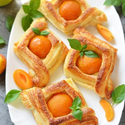 Apricot and Cream Cheese Pastry Recipe-How To Make Apricot and Cream Cheese Pastry-Delicious Apricot and Cream Cheese Pastry