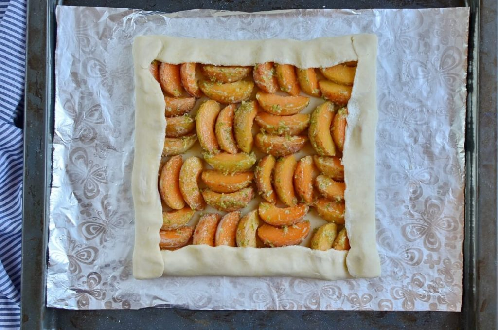 Apricot and Lime Galette recipe - step 6