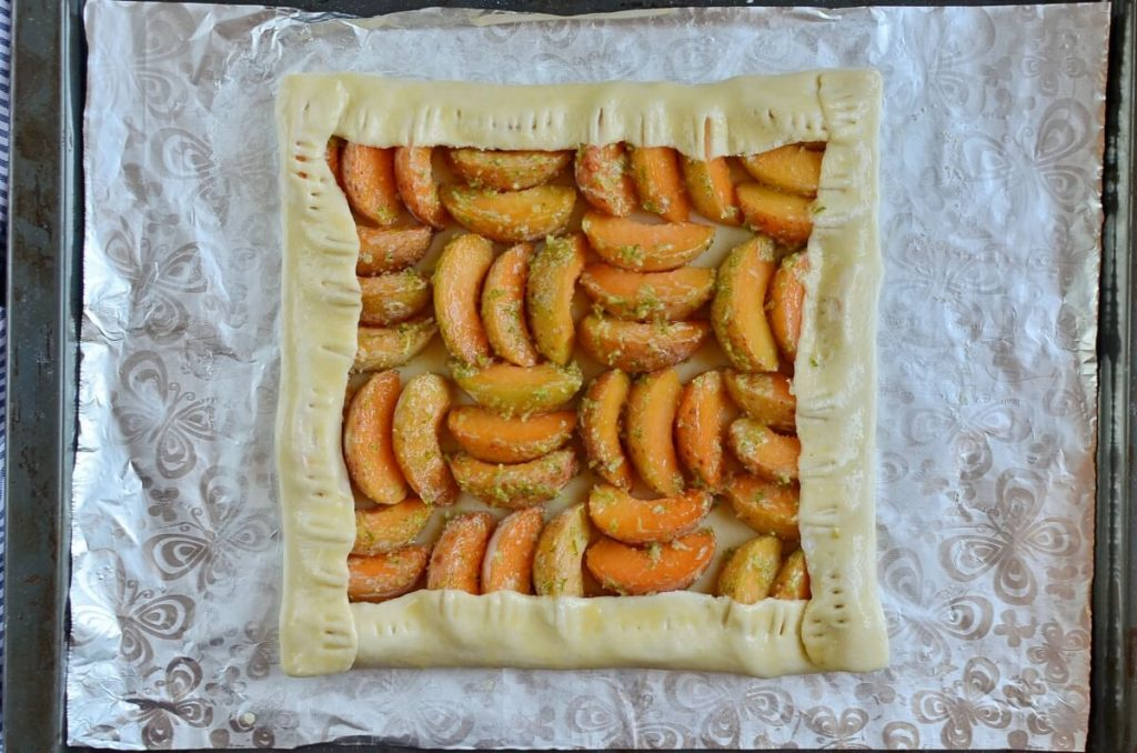 Apricot and Lime Galette recipe - step 8
