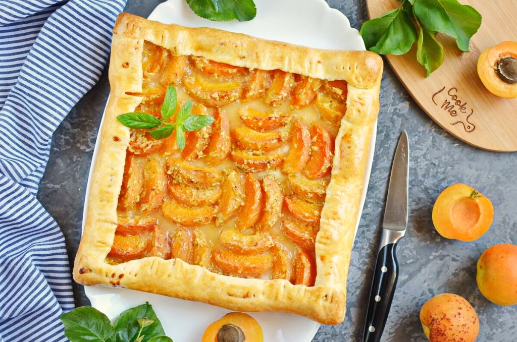 How to serve Apricot and Lime Galette