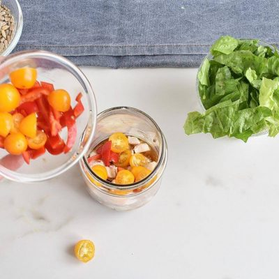 Basic Mason Jar Salad recipe - step 1