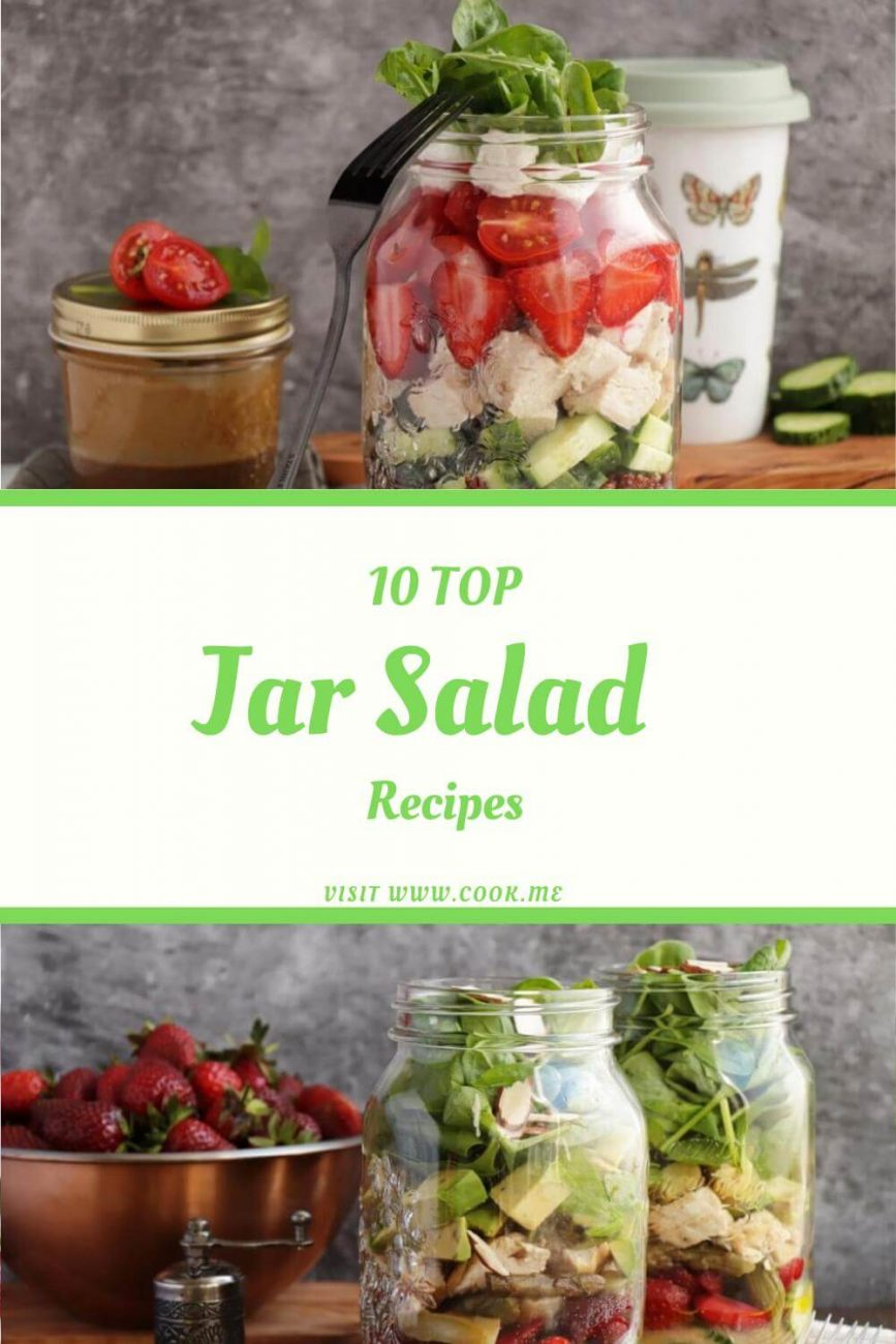 Best Mason Jar Salad Recipes - How to Pack a Salad in a Jar - Best Mason Jar Salad Recipes