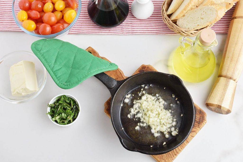 Bruschetta with Grape Tomatoes recipe - step 1