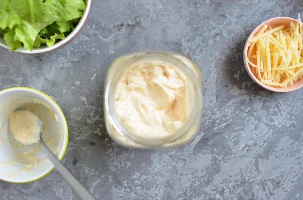 "Burrito ""Bowl"" Jar Salad recipe - step 1"